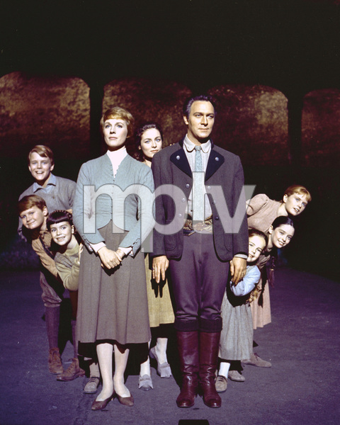 """The Sound of Music""Julie Andrews, Christopher Plummer1964 Twentieth Century Fox**I.V. - Image 5370_0172"
