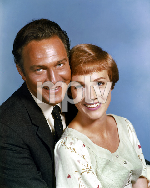 """The Sound of Music""Christopher Plummer, Julie Andrews1965 20th Century Fox ** I.V. - Image 5370_0174"