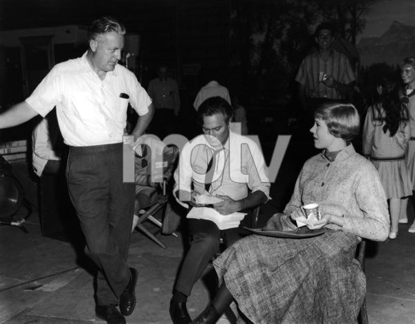 """The Sound of Music""Director Robert Wise, Christopher Plummer, Julie Andrews1965 20th Century Fox** I.V. - Image 5370_0200"