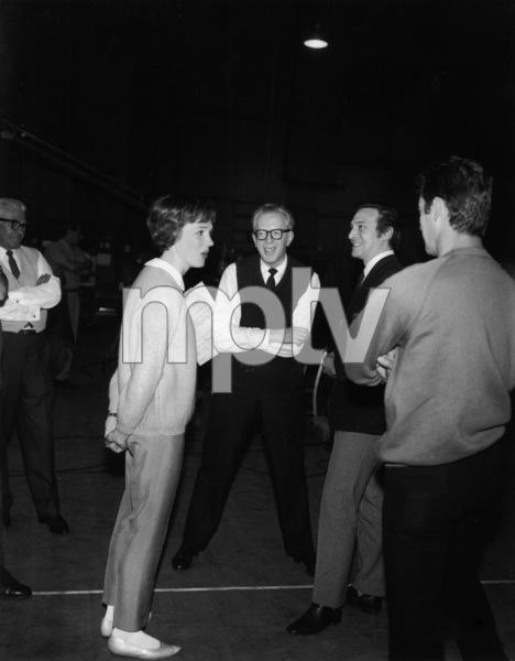"""The Sound of Music""Julie Andrews, Christopher Plummer1965 20th Century Fox** I.V. - Image 5370_0202"