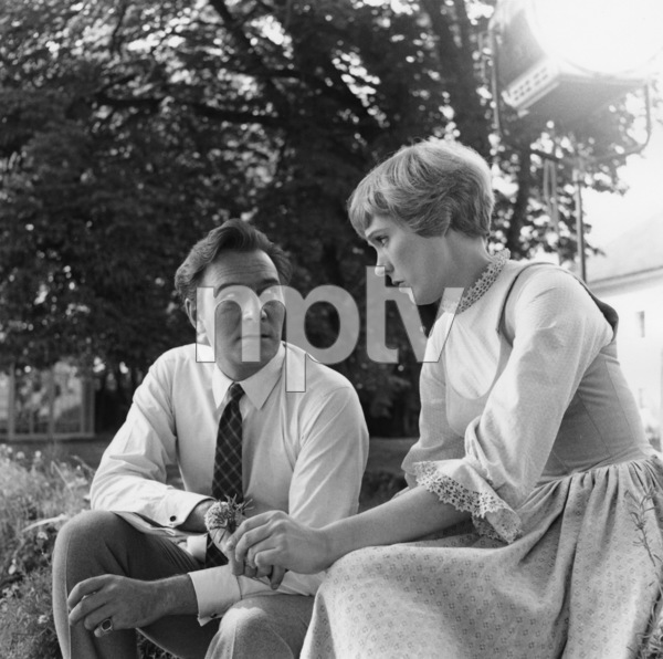 """The Sound of Music""Christopher Plummer, Julie Andrews1965 20th Century Fox** I.V. - Image 5370_0221"