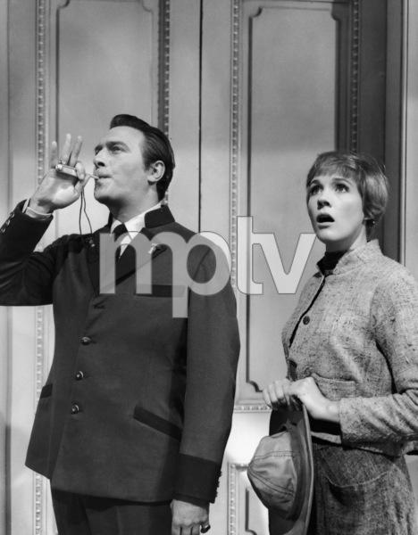 """The Sound of Music""Christopher Plummer, Julie Andrews1965 20th Century Fox** I.V. - Image 5370_0223"