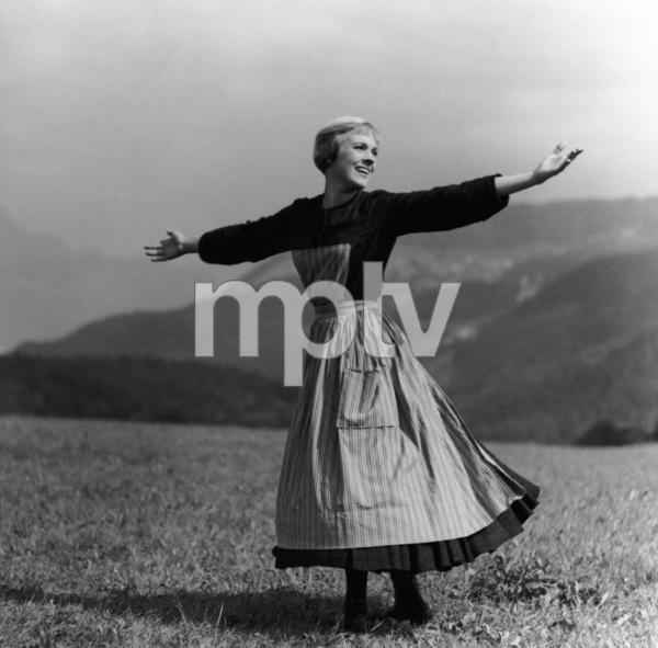 """The Sound of Music""Julie Andrews1965 20th Century Fox** I.V. - Image 5370_0230"