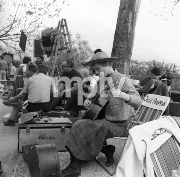 """The Sound of Music""Julie Andrews1965 20th Century Fox** I.V. - Image 5370_0233"