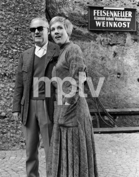 """""""The Sound of Music""""Director Robert Wise, Julie Andrews1965 20th Century Fox** I.V. - Image 5370_0241"""