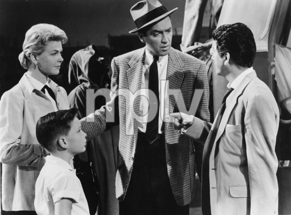 """""""The Man Who Knew Too Much"""" James Stewart, Doris Day, Christopher Olsen, Daniel Gelin1956 Paramount Pictures - Image 5372_0005"""