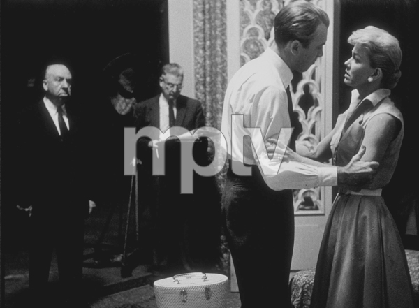 """""""The Man Who Knew Too Much""""Director, Alfred Hitchcock, James Stewart, and Doris Day, Paramount 1955 © 1978 Bill AveryMPTV  - Image 5372_0033"""