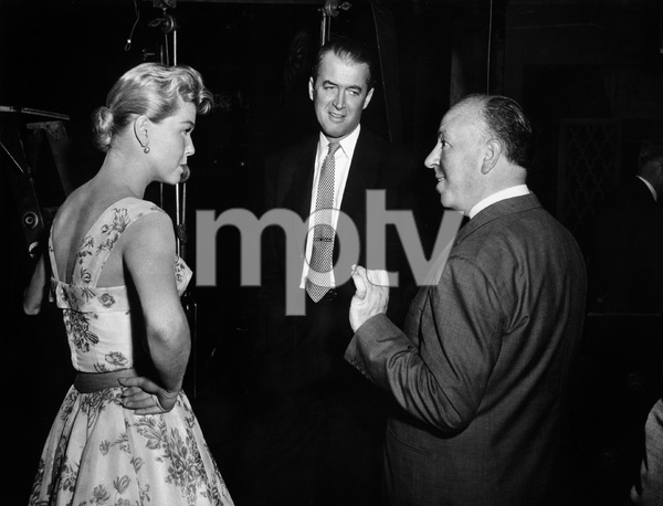 """The Man Who Knew Too Much""Doris Day, James Stewart, director Alfred Hitchcock1956 Paramount Pictures** I.V. - Image 5372_0043"
