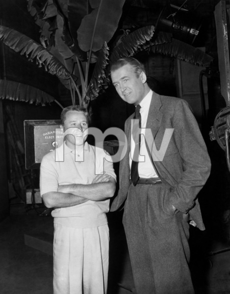 """""""The Man Who Knew Too Much"""" George Gobel, James Stewart1956 Paramount Pictures** I.V. - Image 5372_0050"""