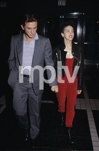 Madonna and Sean Penn1987 © 1987 Gary Lewis - Image 5384_0059