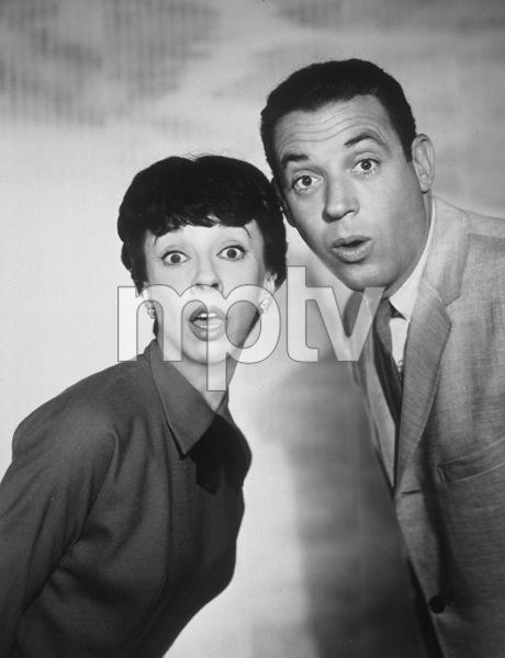 """The Dick Van Dyke Show""Ann Morgan Guilbert, Jerry Paris1962 CBSPhoto by Gabi Rona - Image 5405_0029"