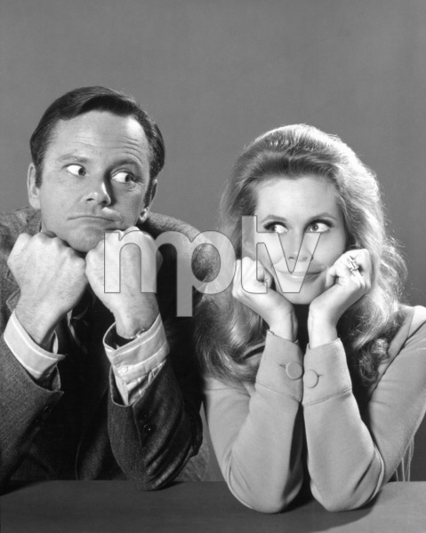 """Bewitched""Dick Sargent and Elizabeth Montgomeryc. 1970 ABC**I.V. - Image 5406_0082"