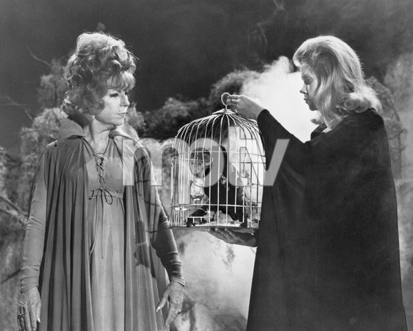 """""""Bewitched""""Agnes Moorehead and Elizabeth Montgomery circa 1967**I.V. - Image 5406_0093"""
