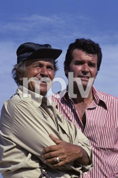 """The Rockford Files""James Garner, Noah Beery Jr.1975 © 1978 Gene Trindl - Image 5411_0016"