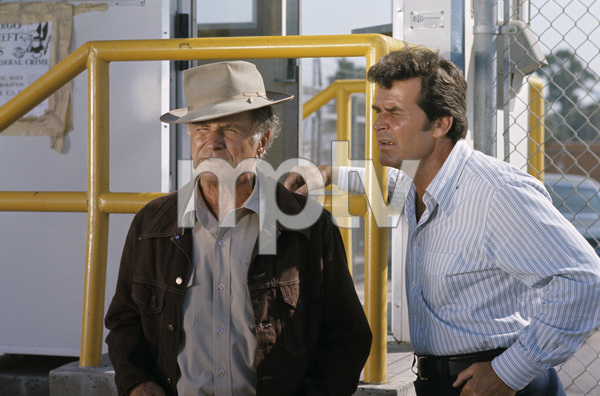 """The Rockford Files""James Garner, Noah Beery Jr.circa 1975** H.L. - Image 5411_0028"