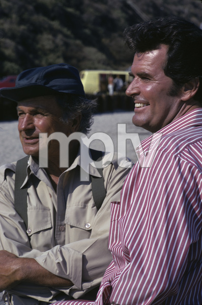 """The Rockford Files""James Garner, Noah Beery Jr.1975 © 1978 Gene Trindl - Image 5411_0032"