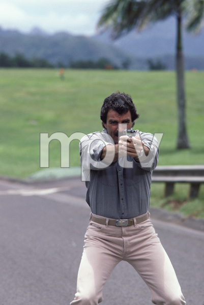 """Magnum, P.I.""Tom Selleck1986 © 1986 Gene Trindl - Image 5412_0028"