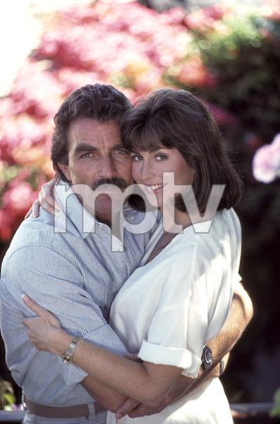 """Magnum, P.I.""Tom Selleck, Dana Delany1986 © 1986 Gene Trindl - Image 5412_0094"