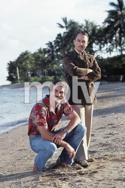 """""""Magnum P.I.""""John Hillerman, Tom Selleck1981© 1981 Gene Trindl - Image 5412_0112"""