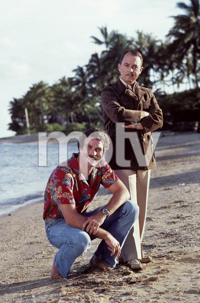 """""""Magnum P.I."""" John Hillerman, Tom Selleck 1981 © 1981 Gene Trindl - Image 5412_0112"""