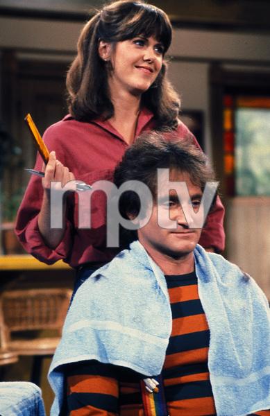 """Mork & Mindy""Robin Williams, Pam Dawber © 1978 David Sutton - Image 5414_0022"