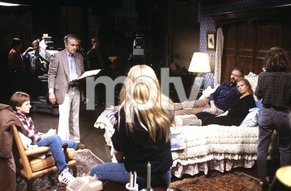 """Family Ties""Michael J. Fox, Tina Yothers, Michael Gross, Meredith Baxter1984 © 1984 Gene Trindl - Image 5419_0042"