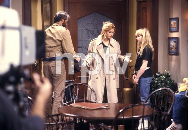 """Family Ties""Michael Gross, Meredith Baxter, Tina Yotherscirca 1988 © 1988 Gene Trindl - Image 5419_0105"