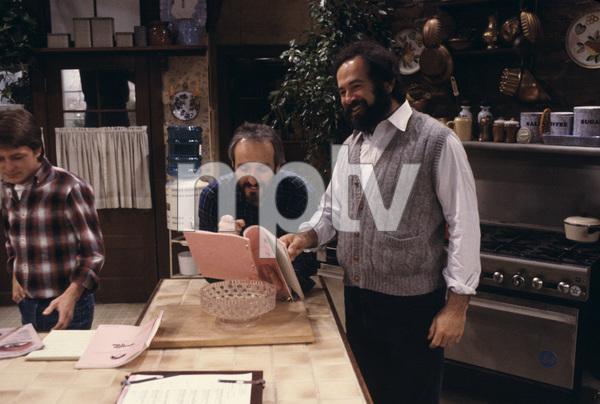 """Family Ties""Michael J. Fox, Michael Gross, Gary David Goldberg1984© 1984 Gene Trindl - Image 5419_0131"