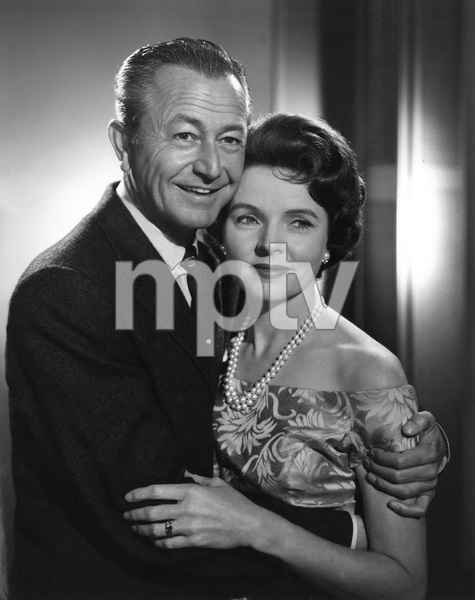 """Father Knows Best""Robert Young, Jane Wyattcirca 1960Photo by Gabi Rona - Image 5420_0013"