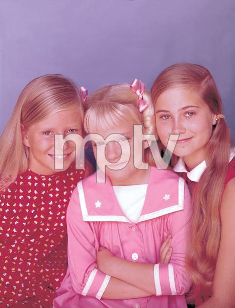 """The Brady Bunch""Eve Plumb,Susan Olsen,Maureen McCormickCirca.1971**I.V. - Image 5421_0075"