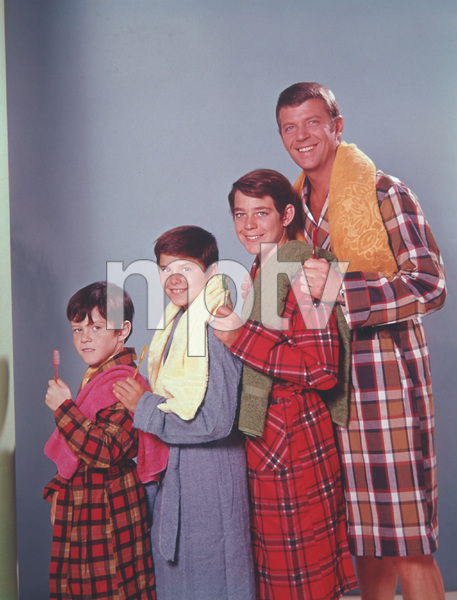 """""""The Brady Bunch""""                                                        Mike Lookinland,Christopher Knight,Robert ReedCirca 1969 **I.V. - Image 5421_0081"""