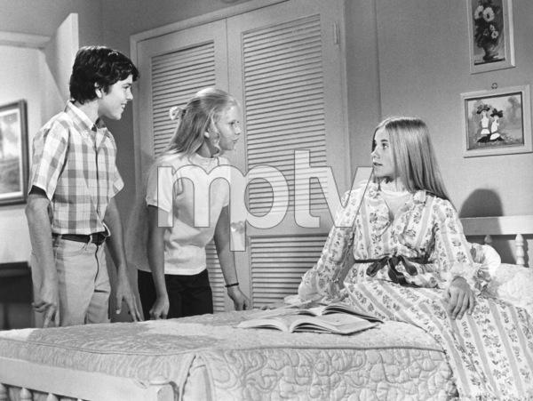 """The Brady Bunch""Christopher Knight, Eve Plumb, Maureen McCormickcirca 1972 ABC** I.V. - Image 5421_0094"