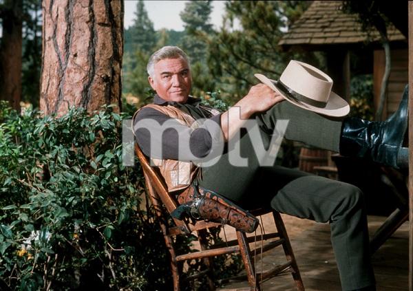 """Bonanza""Lorne Greene1963 NBC © 1978 Ken WhitmoreMPTV - Image 5424_0008"