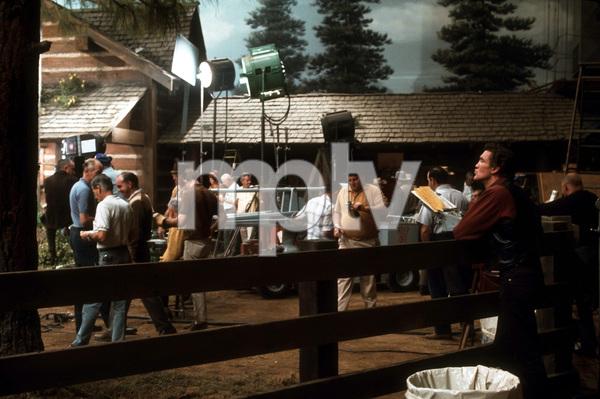 """Bonanza""David Canary behind the scenes1967 NBC © 1978 Gene TrindlMPTV - Image 5424_0013"