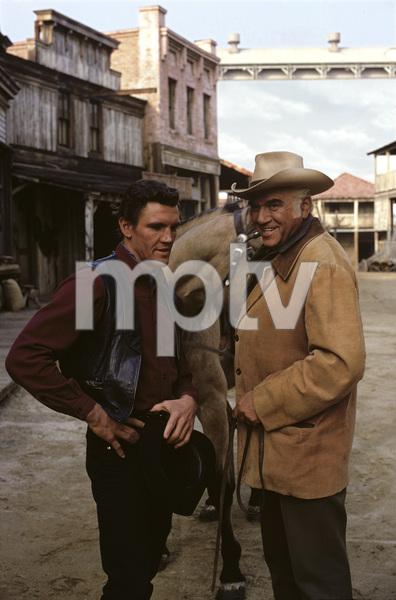 """Bonanza""David Canary, Lorne Greene1968© 1978 Gene Trindl - Image 5424_0043"