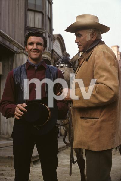 """Bonanza""David Canary, Lorne Greene1968© 1978 Gene Trindl - Image 5424_0085"
