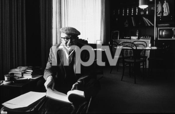 Billy Wilder at Samuel Goldwynn Studios office, 1964Photo by: Bob Willoughby / MPTV - Image 5447_0002