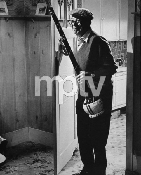 """Billy Wilder on the set of""""Kiss Me Stupid""""c. 1964 - Image 5447_0012"""