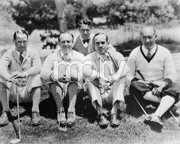 Jack Warner and Al Jolsoncirca 1936 - Image 5460_0158
