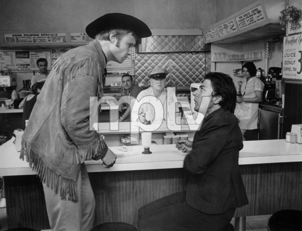 """Midnight Cowboy""Jon Voight and Dustin Hoffman1969 UA - Image 5492_0013"
