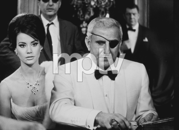 """""""Thunderball,""""Claudine Auger, Adolfo Celi1965 United Artists / MPTV - Image 5494_0023"""