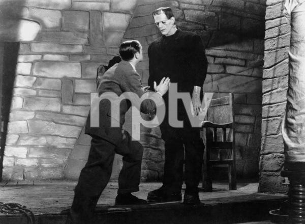 Boris Karloff, Colin Clive, FRANKENSTEIN, 1931, **I.V. - Image 5577_0053