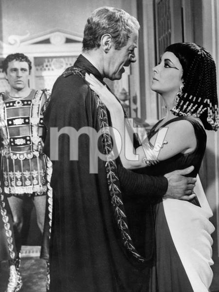 """Cleopatra""Richard Burton, Rex Harrison, Elizabeth Taylor1963 20th Century Fox - Image 5589_0060"