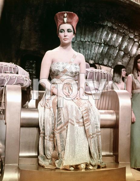 """Cleopatra""Elizabeth Taylor1963 20th Century Fox** I.V. - Image 5589_0080"