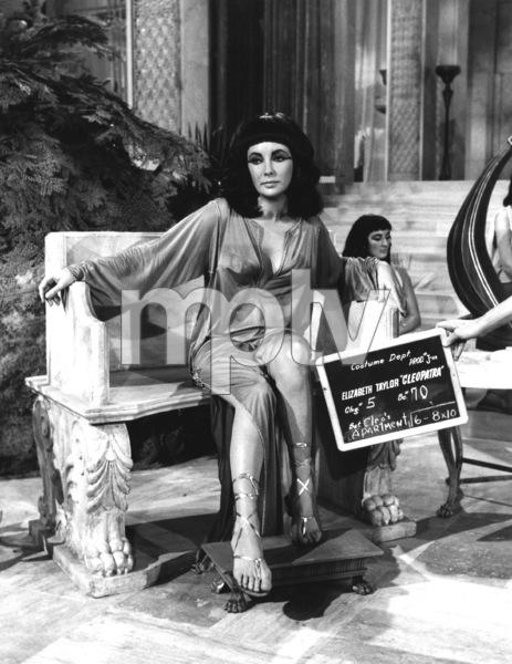 """Cleopatra""Elizabeth Taylor1963 20th Century Fox** I.V. - Image 5589_0098"