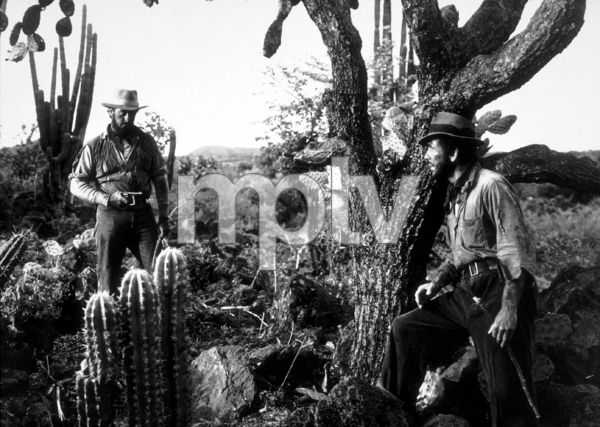"""The Treasure of the Sierra Madre""Tim Holt and Humphrey Bogart1948 Warner Bros.MPTV - Image 5610_0006"