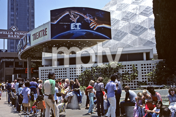 """Cinerama Dome in Hollywood, CA playing """"E.T. the Extra-Terrestrial"""" © 1982 Ulvis Alberts - Image 5648_0152"""