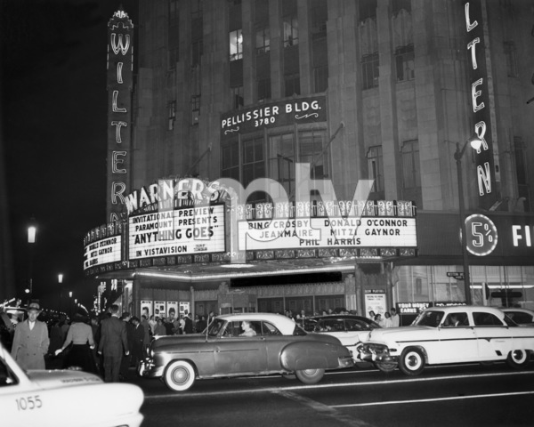 The Wiltern Theatre in Los Angeles 1956** B.D.M. - Image 5648_0164