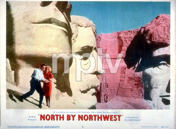 """North By Northwest,""Lobby Card.1959 MGM - Image 5667_0007"