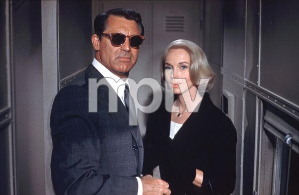 """North by Northwest""Cary Grant, Eva Marie Saint1959 MGM - Image 5667_0026"